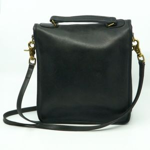 Coach Bags - COACH~willis~vintage '70's~LEATHER CROSSBODY BAG